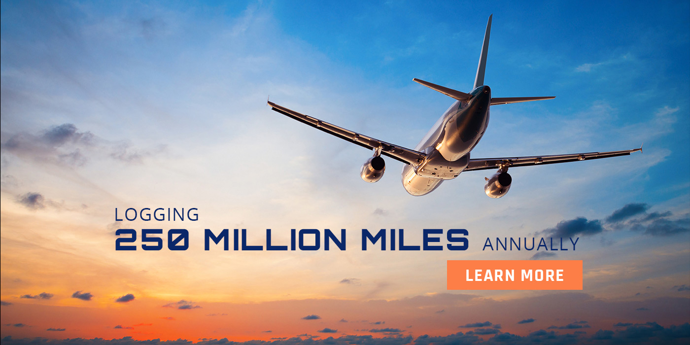 Logging 250 Million Miles Annually - Learn More