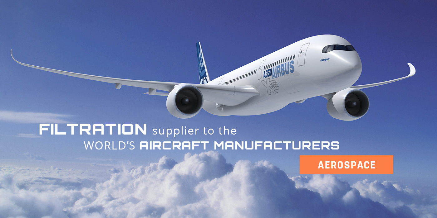 Filtration supplier to the World's aircraft manufacturers