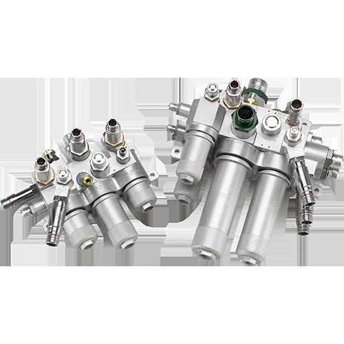 Dassault Falcon 7X Hydraulic Filter Modules Image